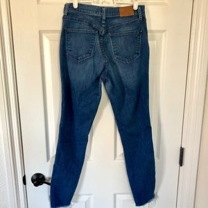 Madewell Jeans - Madewell high riser skinny jeans size 27